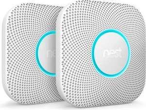(Dagdeal) Google Nest Protect V2 Batterij - Slimme rook- en koolmonoxidemelder (2 stuks)