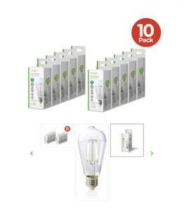 10 Stuks Nedis Dimbare Retro Ledlamp (dagknaller)