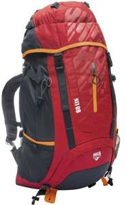 Pavillo Ultra Trek Backpack - Grijs/Rood - 60L