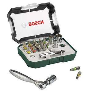 Bosch X-Line bitset- en ratelset 26-delig