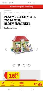 Playmobil City Life 70016 Mijn Bloemenwinkel (bol.com €44,-)