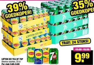 Big Bazar Tray Lipton blikjes