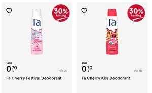FA Deodorant en Douchegel