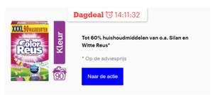 Dagdeal: Persil, Witte Reus & Silan tot 60% korting - wasmiddel