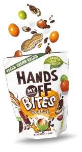 Hands Off My Chocolate Vegan Bites niet lekker geld terug