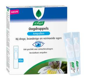 Gratis Sample A.Vogel oogdruppels ( weinig beschikbaar ) op=op