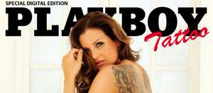 18+, gratis digitale editie Playboy tattoo girls