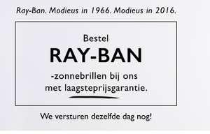 Ray-Ban zonnebrillen met laagste prijsgarantie @ Lensway