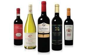 Wijnpakket met 6 (dure) flessen wijn + Roompot voucher voor €14,95 door code @ Wijnbeurs