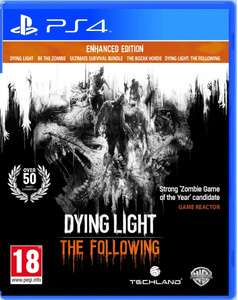 Dying Light: The Following - Enhanced Edition (PS4) voor €24,99 @ Zavvi