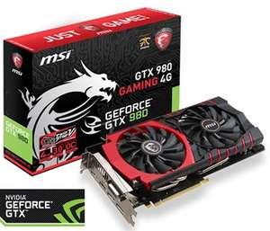 MSI GeForce GTX 980 GAMING - 4 GB €399,- @NoRRoD