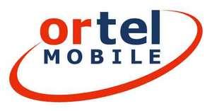 Gratis sim-kaart @Ortel Mobile