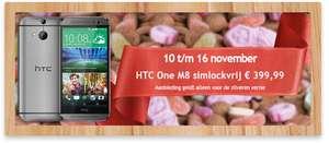 HTC One M8 Zilver 16GB voor €400 @ BelCompany  winkels