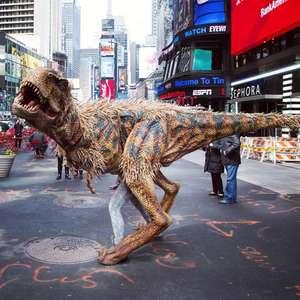 Uniek realistisch Dinosaurus pak @ Megagadgets.nl