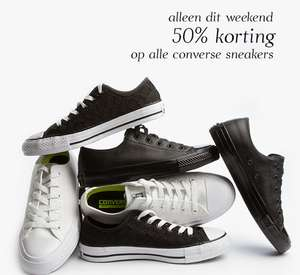 Alle Converse All Stars 50% korting @ Perfectly Basics