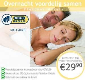 VOOR € 29,90 EEN 3-STERREN HOTELOVERNACHTING BIJ FLETCHER HOTELS - 62% KORTING!