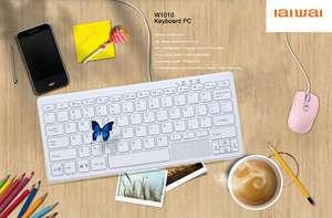 IAIWAI W1010 Windows 10 Keyboard PC Intel Baytrail-T CR Z3735F Quad Core 1.33GHz 2GB RAM 32GB SSD ROM WiFi Bluetooth 4.0
