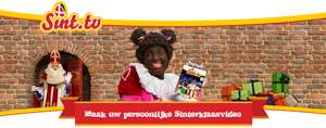 Maak Gratis een persoonlijke sinterklaasvideo t.w.v. €3,95 @ Sint.tv
