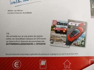 Gratis digitale editie van Autoweek Classics en GTO.