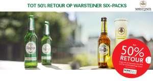 PROBEER WARSTEINER MET 50% KORTING! (+25% bonus bij AH)