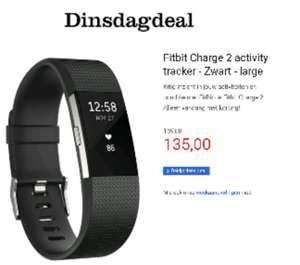 Fitbit charge 2 alle kleuren 135 euro incl.