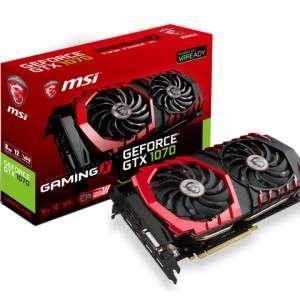 [PRIJSFOUT] MSI GeForce GTX 1070 GAMING X 8G voor €269,70 @ MegaMobile