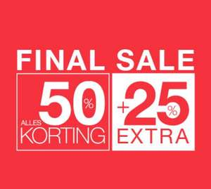 Alle sale -50% + 25% extra korting @ Expresso