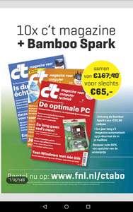 Bamboo Spark en jaarabo c't magazine voor € 65,-