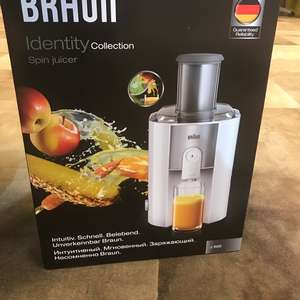 Braun Spin Juicer J500 voor €30 @ AH (Roosendaal Centrum)