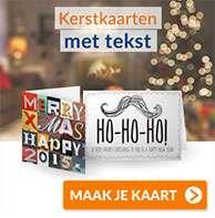 Gratis postzegel bij (kerst)kaart versturen door code @ Kaart Wereld