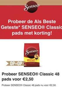 Goedkope Senseo pads via scoupy 48 stuks voor €2,50 @ Scoupy