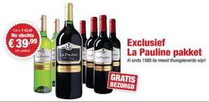 Exclusief La Pauline Pakket voor €22,99 Na Code @ WijnBeurs