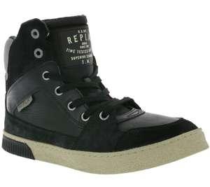 REPLAY Tahoe gewatteerde sneaker zwart @ Outlet46.de