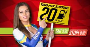 Vandaag Tanken met korting! Off Season Programma TinQ MAX.KORTING!