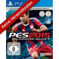 Pro Evolution Soccer 2015 Day 1 Edition (PS4) voor €29,50 @ Vendo