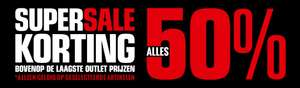 50% Korting Supersale @ Just Brands Factory Outlet