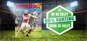 26 weken Voetbal International voor €37,50 (50% korting)