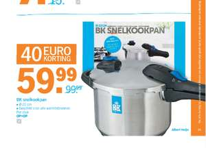 BK Snelkookpan - €59,99 vanaf maandag @ AH XL