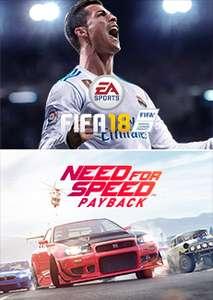 FIFA 18 + Need for Speed™ Payback Bundel voor €39.99