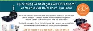 Koopjes inslaan bij Van der Valk Hoorn