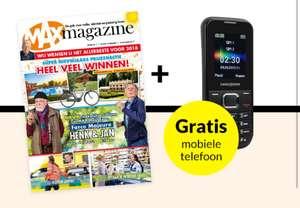 52 weken MAX Magazine + Swisstone telefoon twv €35,-