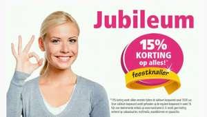 15% extra korting tijdens de Jubileumkoopavond op 15, 16 of 17 april @ Marskramer
