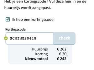 Autohuur: Sunnycars.nl - €20,- Korting!