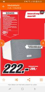 Sonos Play 3 multiroom speaker