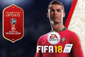 Speel gratis FIFA 18 incl. Word Cup update (PS4/Xbox One/pc) t/m 15 juni