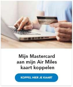 Koppel je kaart en ontvang 150 Extra Air Miles cadeau van Mastercard