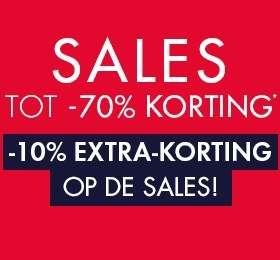 Sales tot -70% + 10% extra @ Kiabi