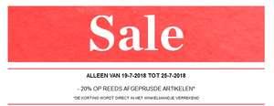 20% extra korting op sale @ street one