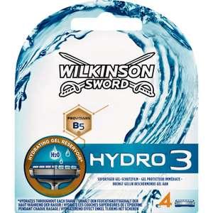 -67% Wilkinson Sword Hydro 3 (4-pack) @ Rossmann DE [Grensdeal]