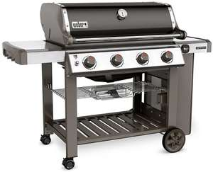 Weber Genesis II E-410 GBS Zwart voor €779 i.c.m. kortingscode @ Barbecueshop.nl